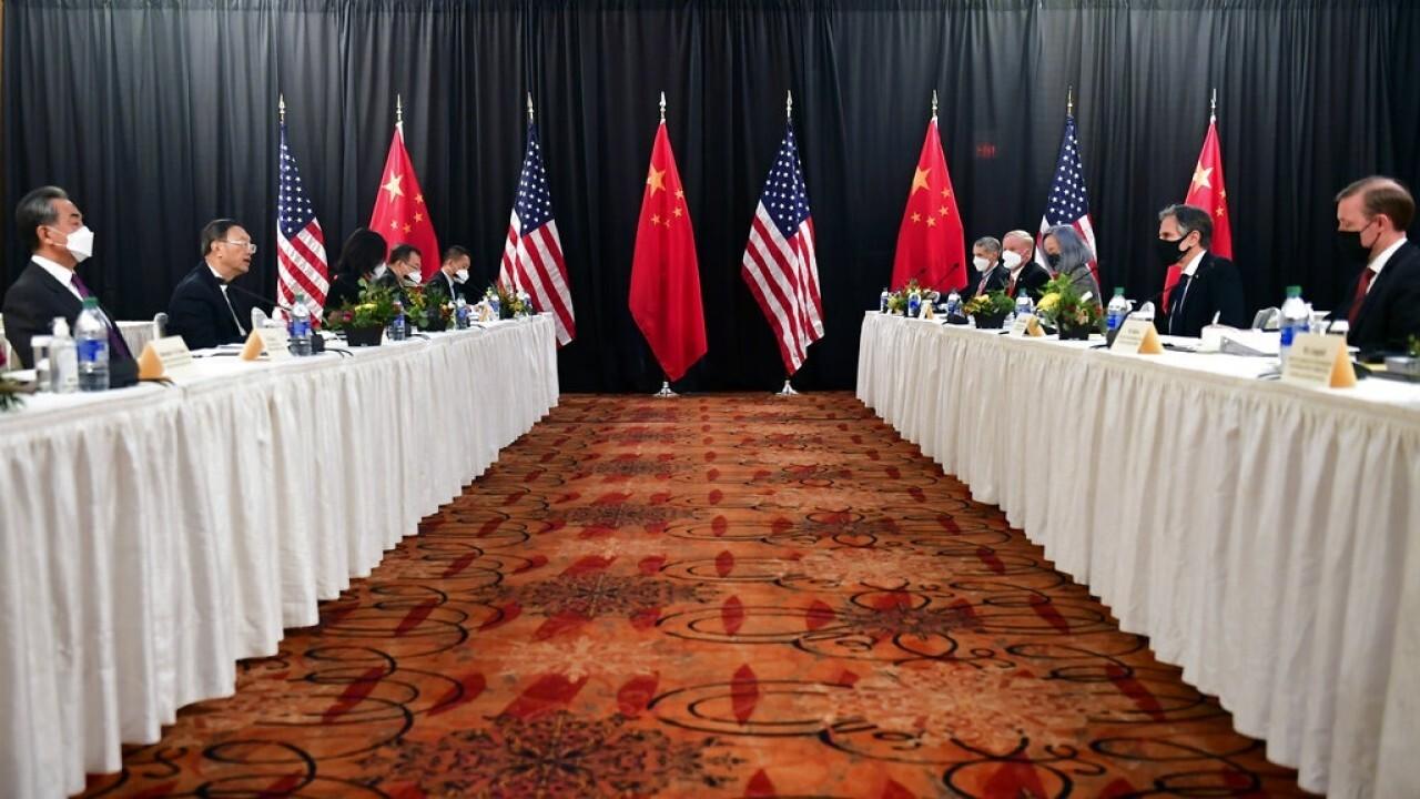 US, China clash in first meeting under Biden