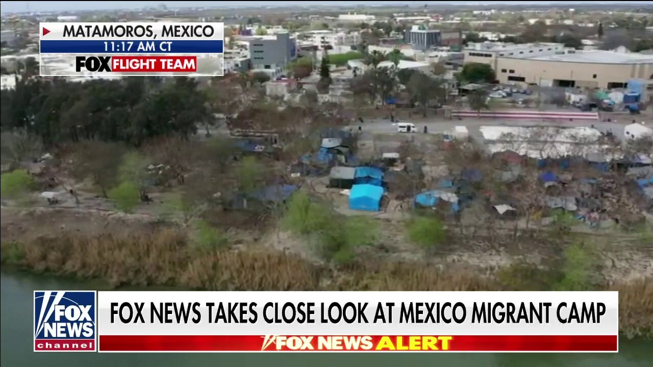 Fox News takes up-close look at Mexico migrant camp: 'Ground zero' for border surge