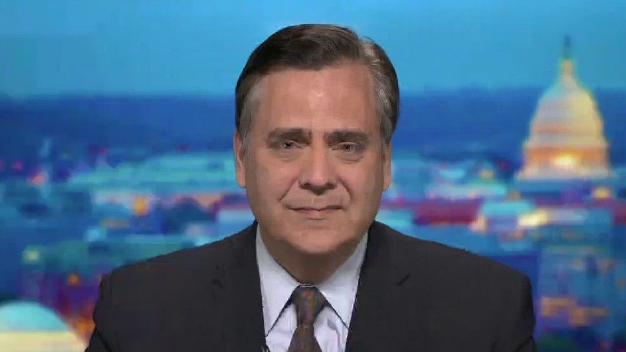 Turley: Special counsel should investigate Joe, Hunter Biden's potential 'influence-peddling operation'