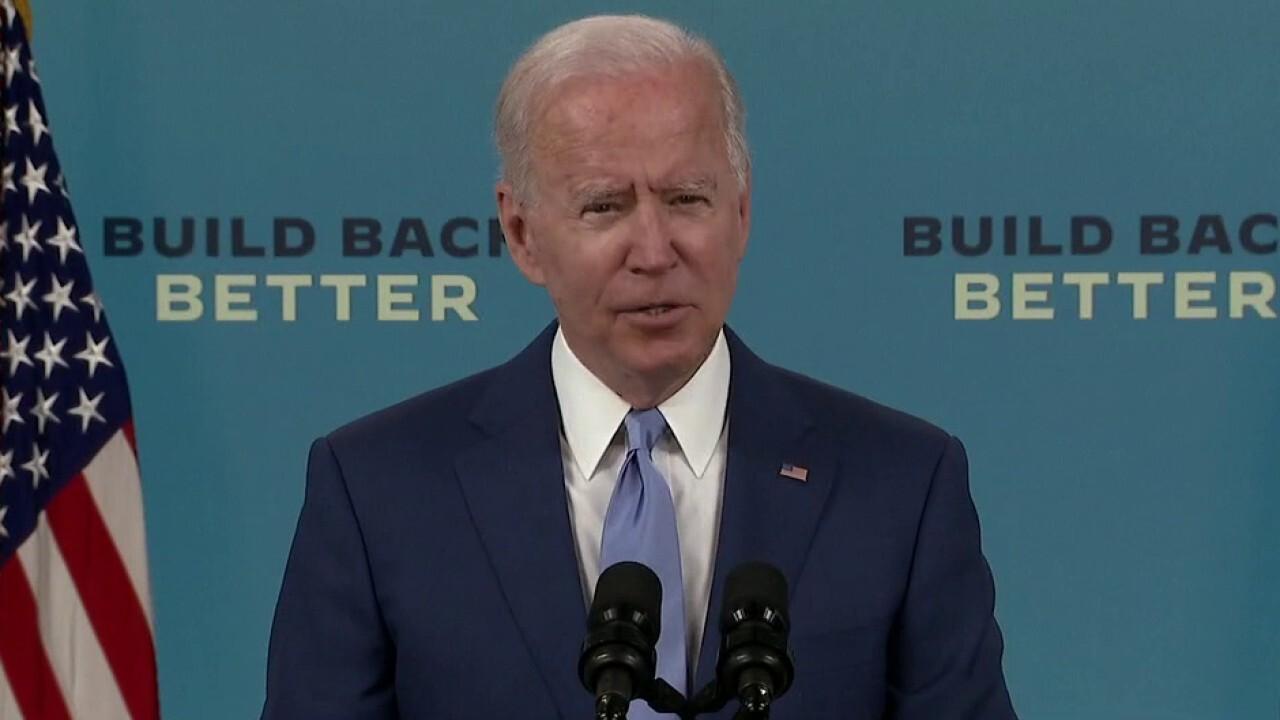 Biden insists economic plan is making progress, despite low job numbers
