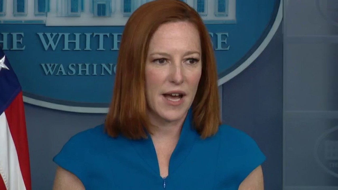 Psaki says Biden's comments on Chauvin weren't 'weighing in' on trial