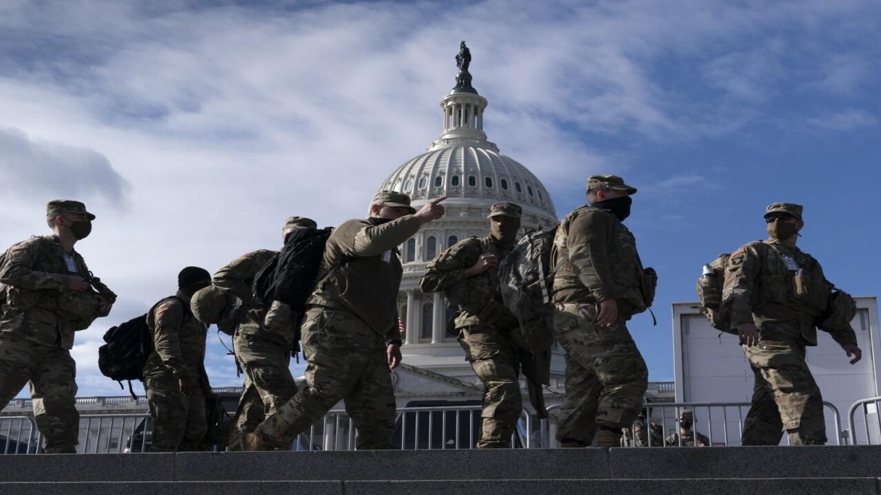 Defense officials fear 'insider attack' on Biden inauguration
