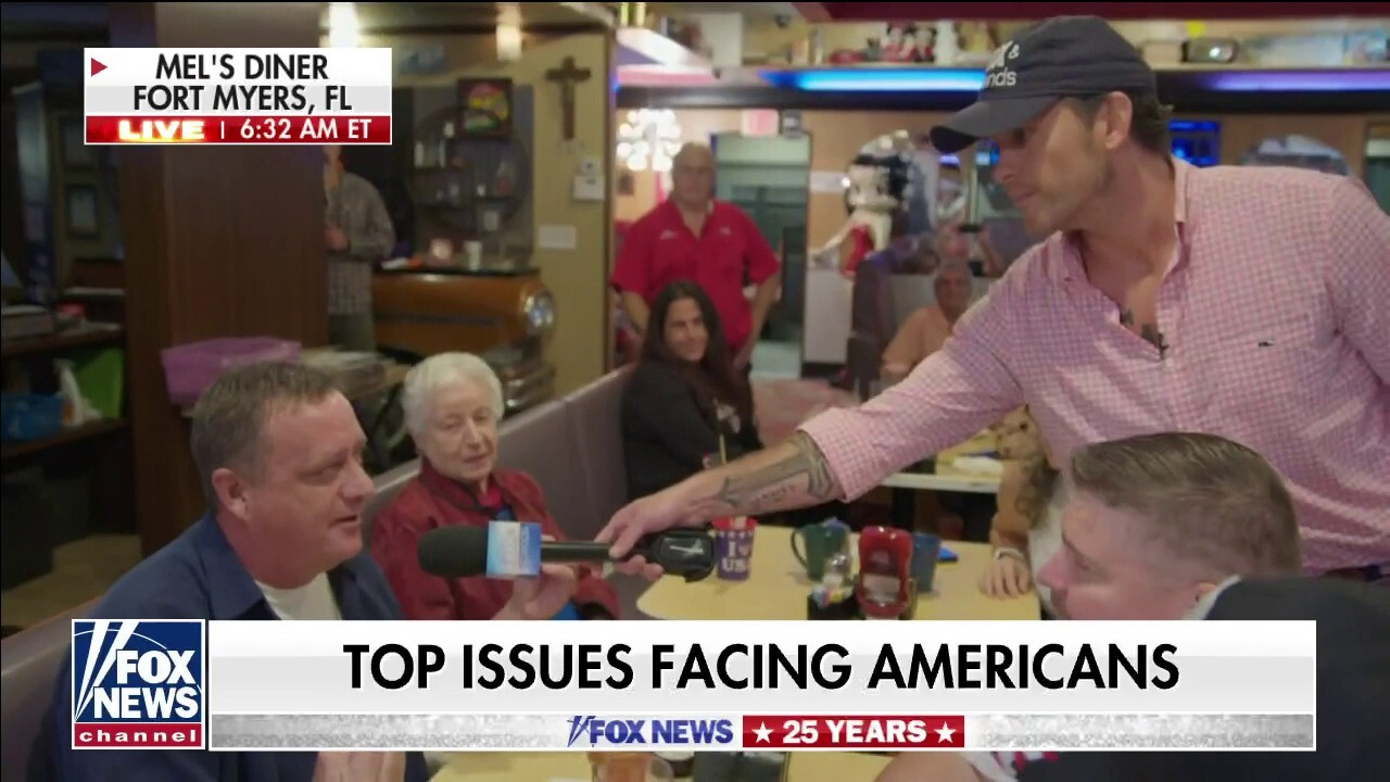 Florida diner patrons slam socialist policies: If we don't wake up, our freedoms are going to be gone