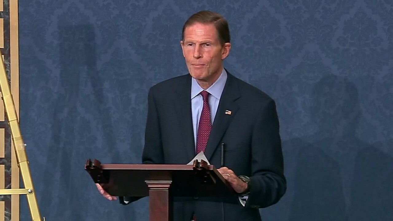 Sen. Blumenthal speaks on 'measures' that should be considered to 'correct' Supreme Court