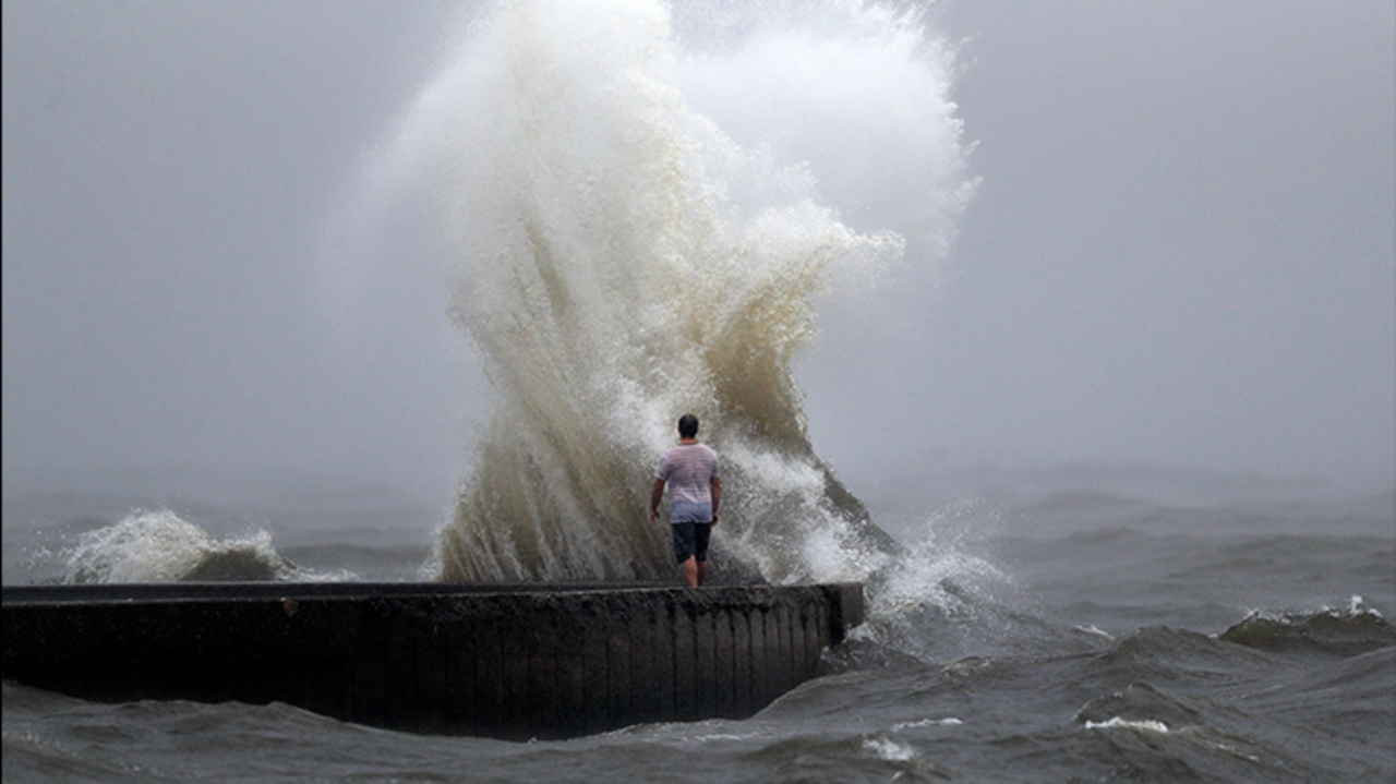 Tropical Storm Cristobal makes landfall in southeast Louisiana