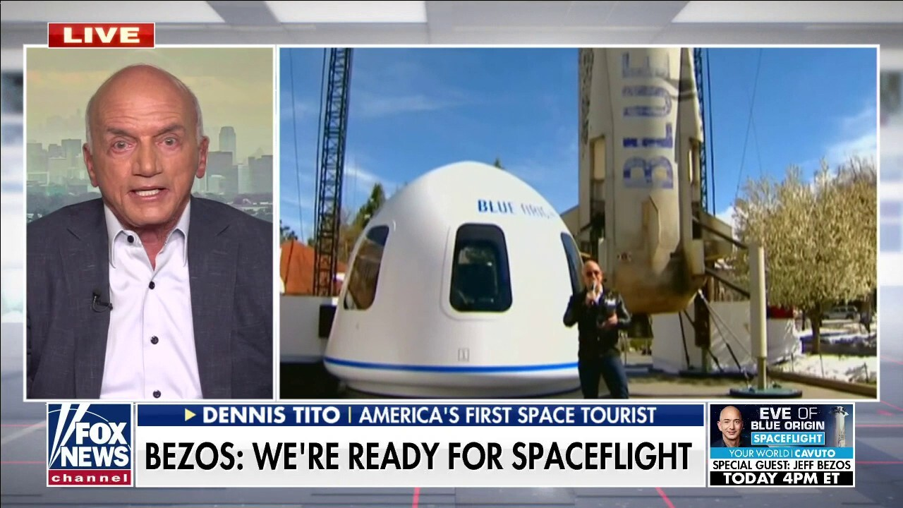 America's first space tourist on Jeff Bezos' Blue Origin launch