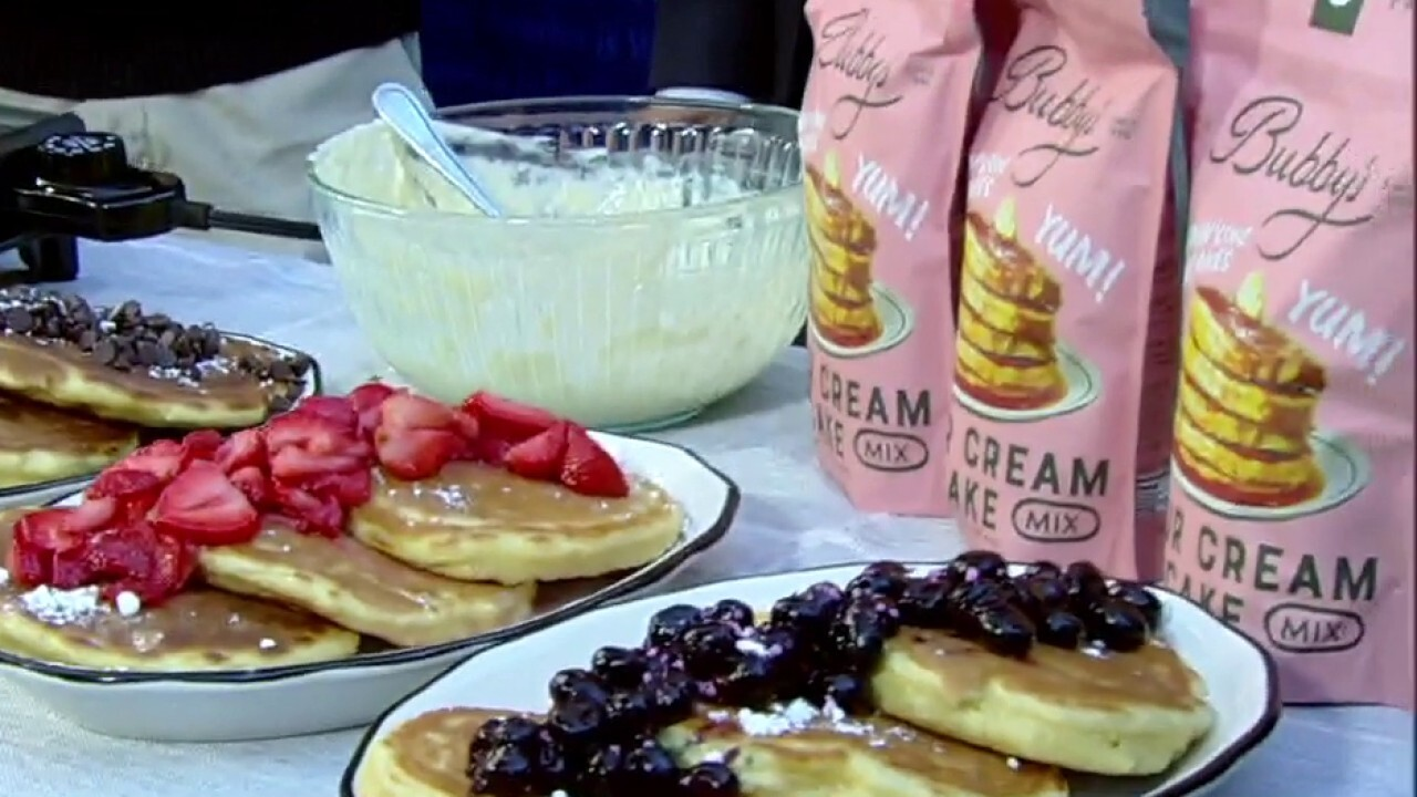 How to create the perfect pancake stack
