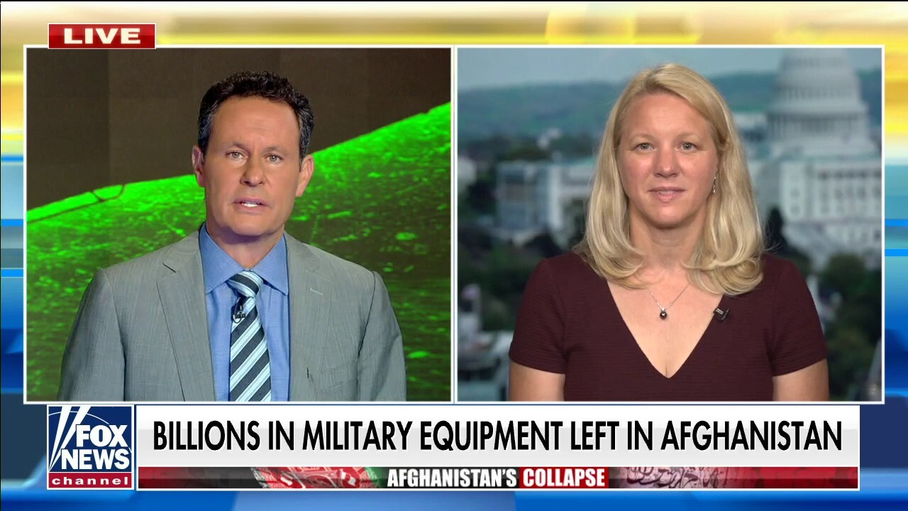Billions in military equipment left in Afghanistan