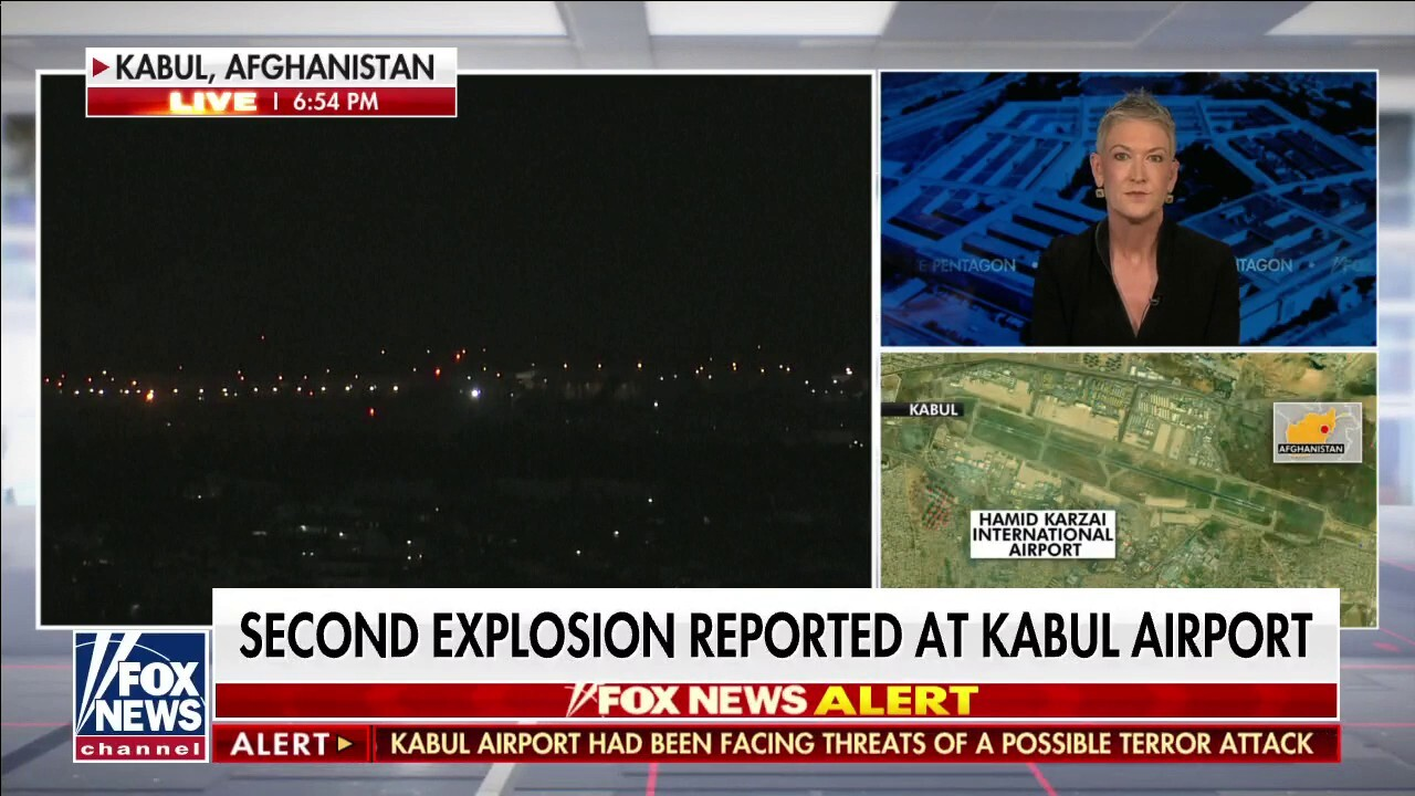 Kabul airport hit by second blast in 'complex suicide attack'