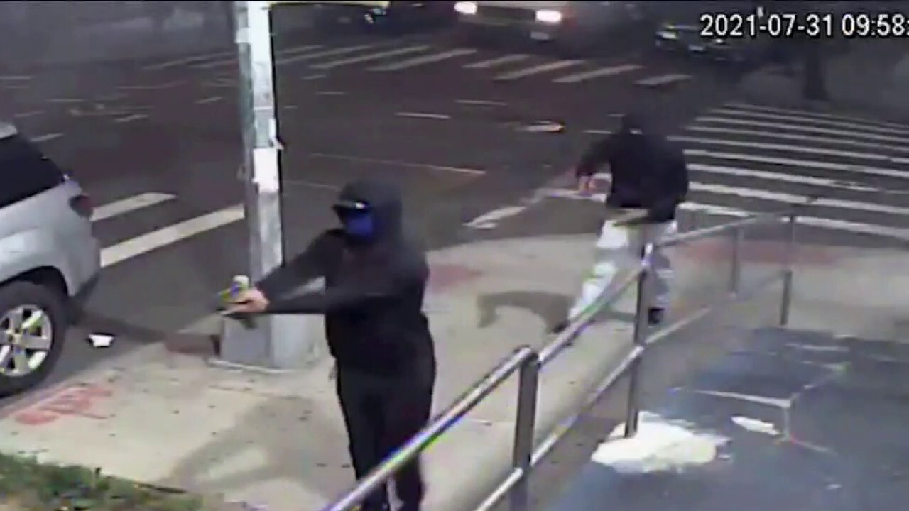 Manhunt underway for men who opened fire on a sidewalk in New York