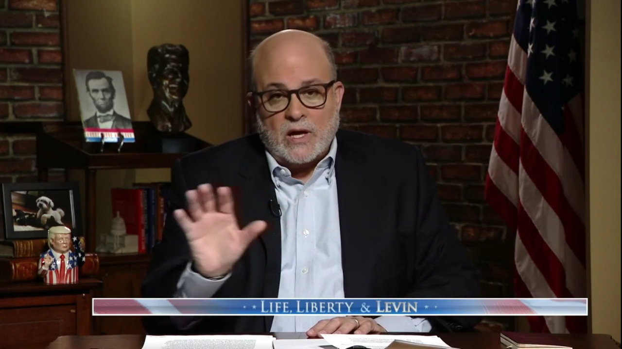 Mark Levin to Georgia voters: 'You are our last line of defense'