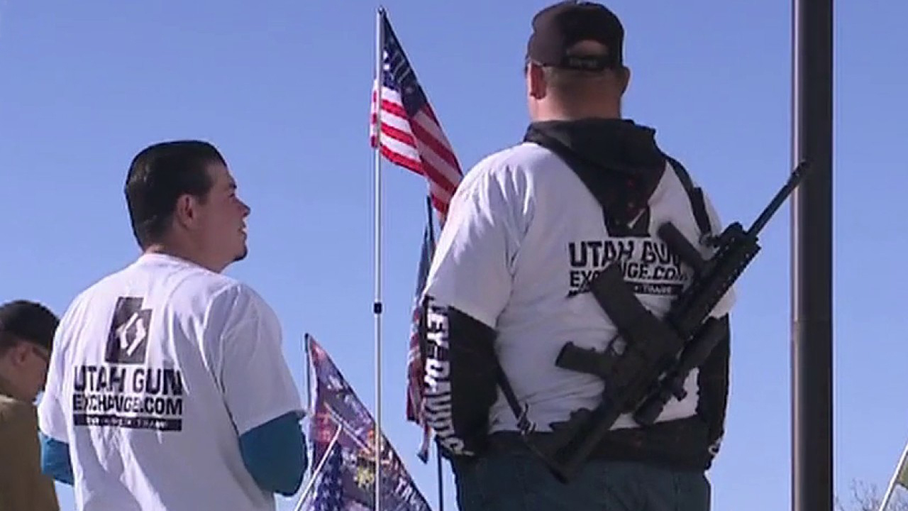 Utah gun owners flock to state Capitol to protest newly proposed gun control laws