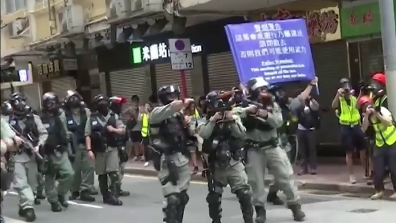Protests escalate in Hong Kong over China's proposed new national security laws
