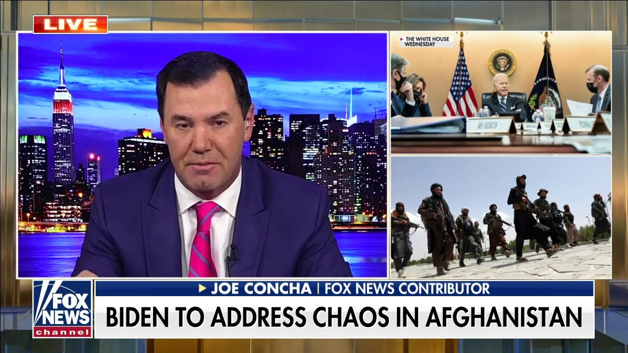 Concha slams Biden's 'light schedule' during crisis: Who works this way?