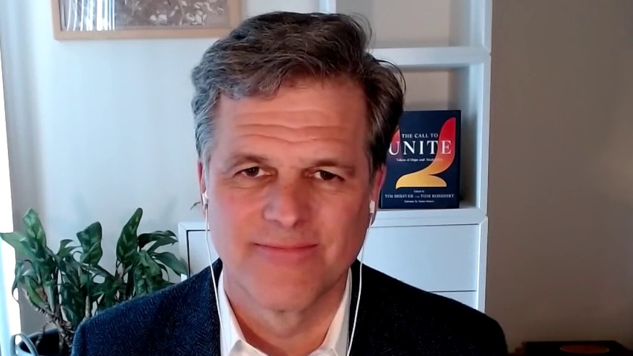 Tim Shriver delivers 'The Call to Unite': A book for the 'starving majority'