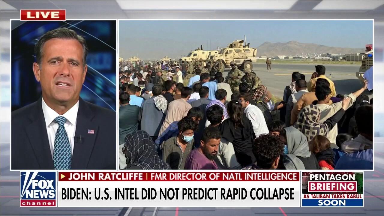 John Ratcliffe: 'Biden is not inspiring confidence in national security'