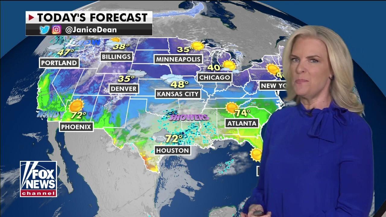 National Forecast, Feb. 25