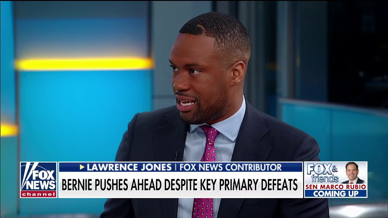 Lawrence Jones: Dems want Bernie out of the race to keep Biden from being exposed
