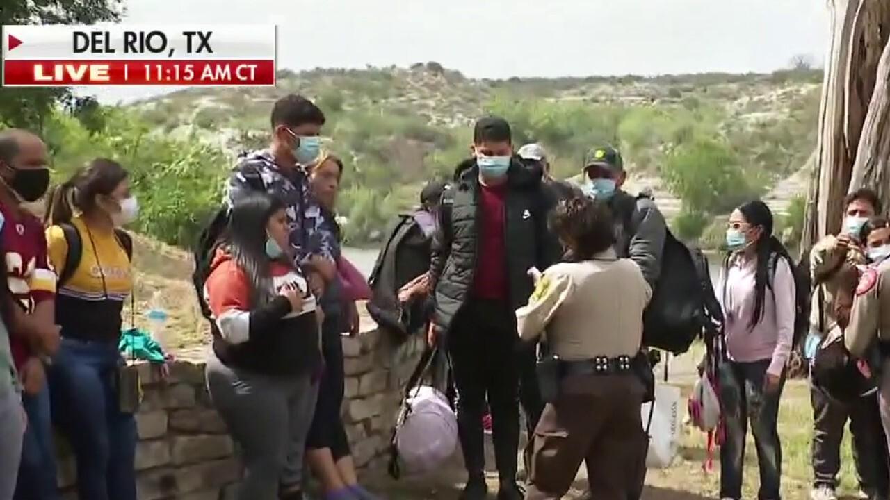 Migrant apprehensions at US-Mexico border surge
