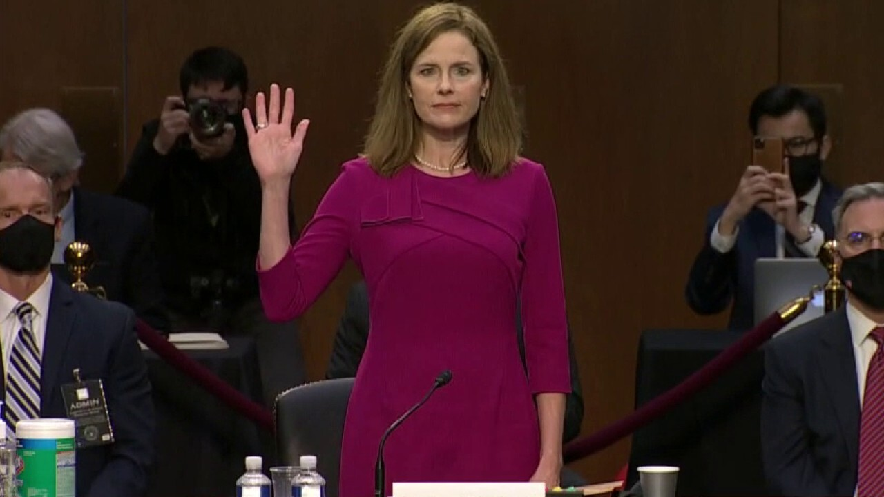 The Senate Judiciary Committee set to vote on nomination of Amy Coney Barrett on Oct. 22.