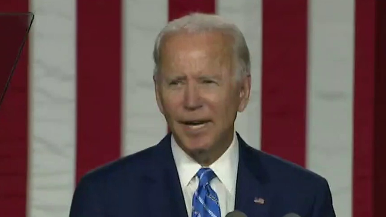 Media projects Joe Biden's incoherence on President Trump