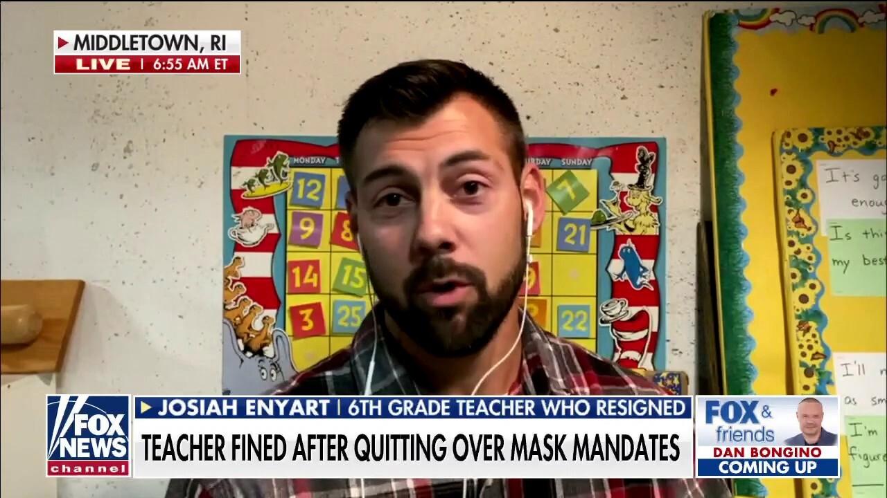 Kansas teacher fined $1,000 after quitting over masks, critical race theory