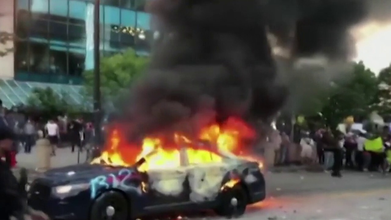 National Guard deployed to stop riots in Atlanta amid Floyd protests