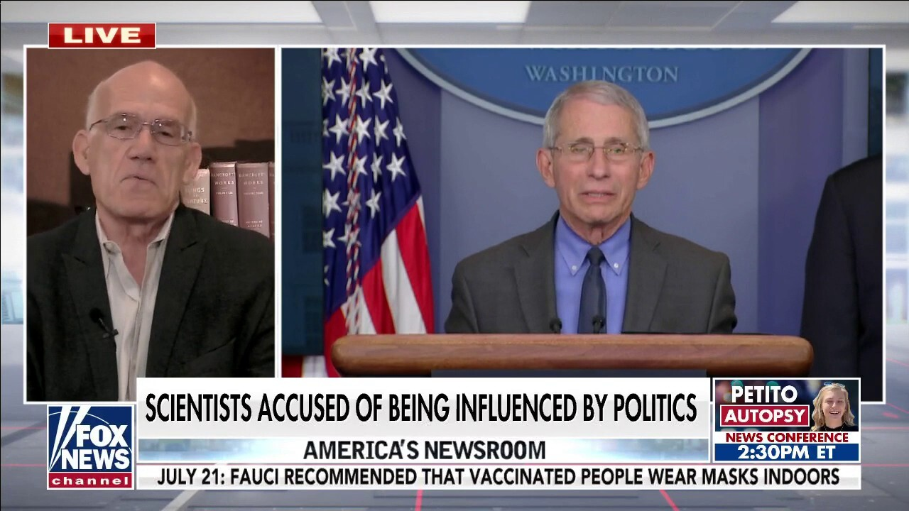 Moving the goalposts: Victor Davis Hanson reacts to Fauci's flip-flopping on masks, vaccines