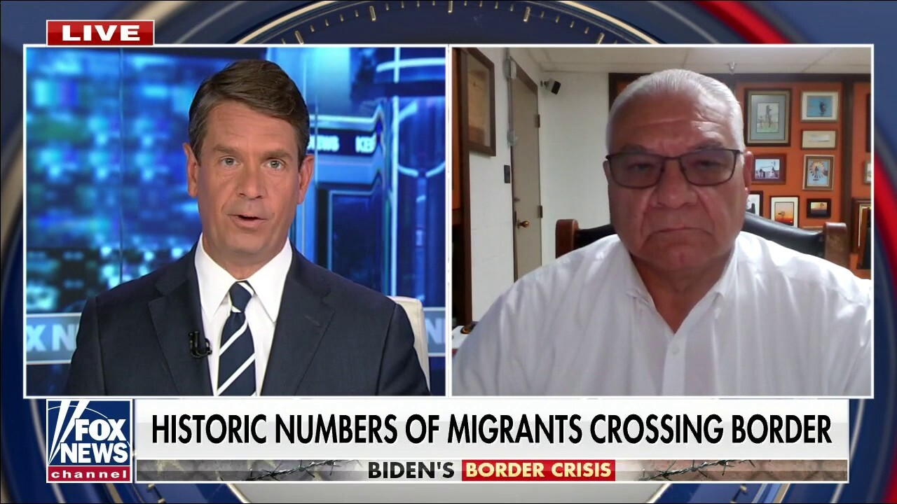 Southwest border sees 419% spike in illegal border crossings from July 2020-July 2021