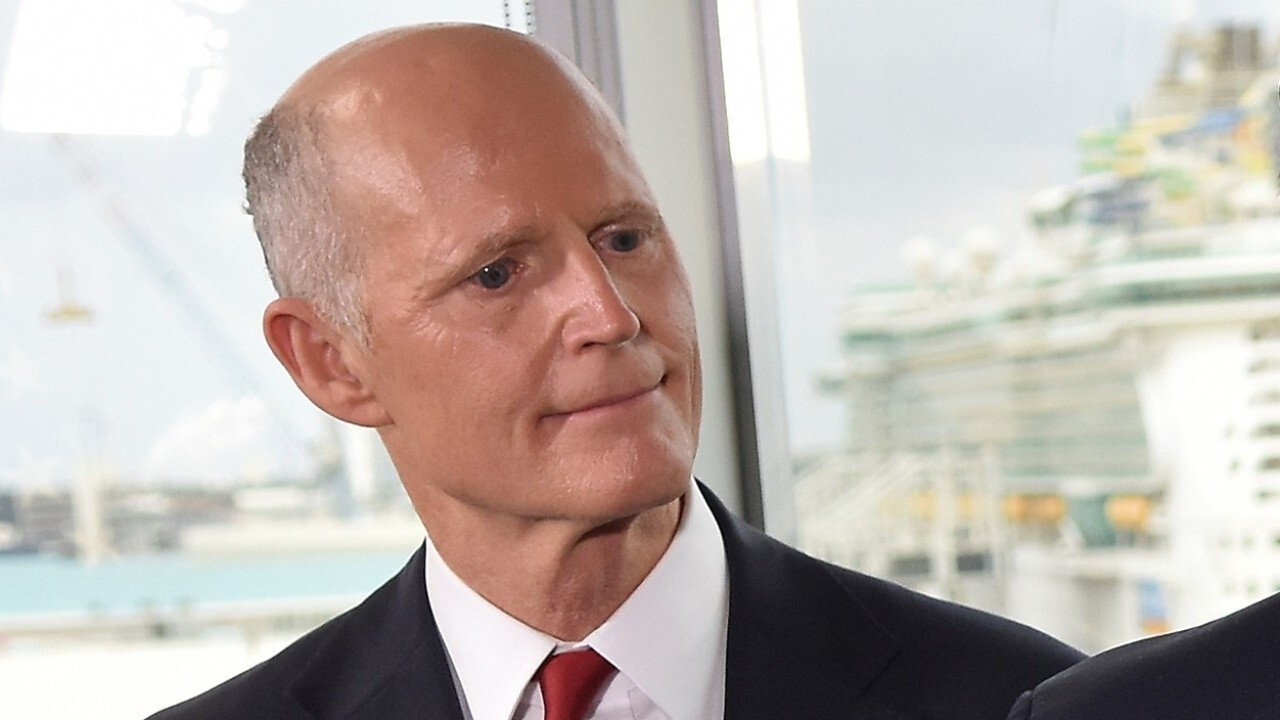 Sen. Rick Scott on self-quarantine after contact with person who later tested positive for coronavirus