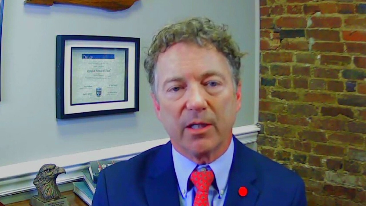 Rand Paul: Government doesn't want you free of mandates