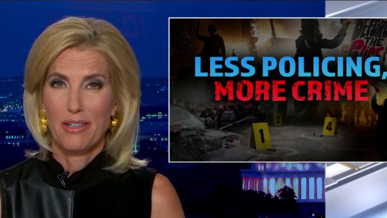 Ingraham: Left's anti-police agenda making America 'more dangerous'