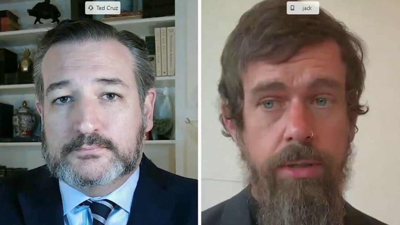 Sy. Ted Cruz grills Twitter CEO Jack Dorsey over censoring NY Post's Hunter Biden story