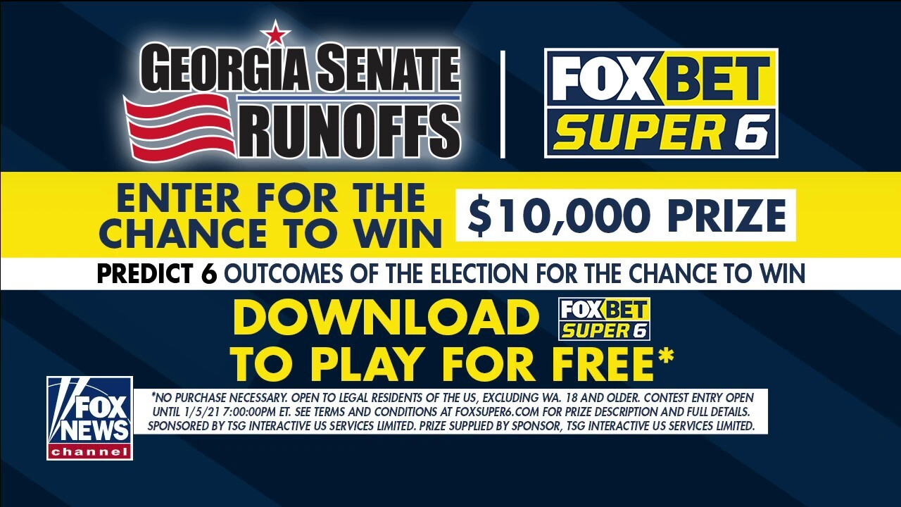 FOX BET's Super 6 app offers chance to win $10,000 with Georgia Senate runoffs game