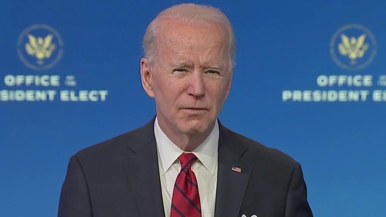 Biden: 'Shocking' that lawmakers refused masks during Capitol siege
