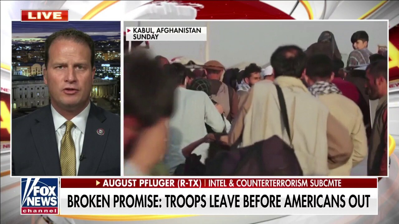 Rep Pfluger: US abandoning Afghanistan shakes confidence in allies