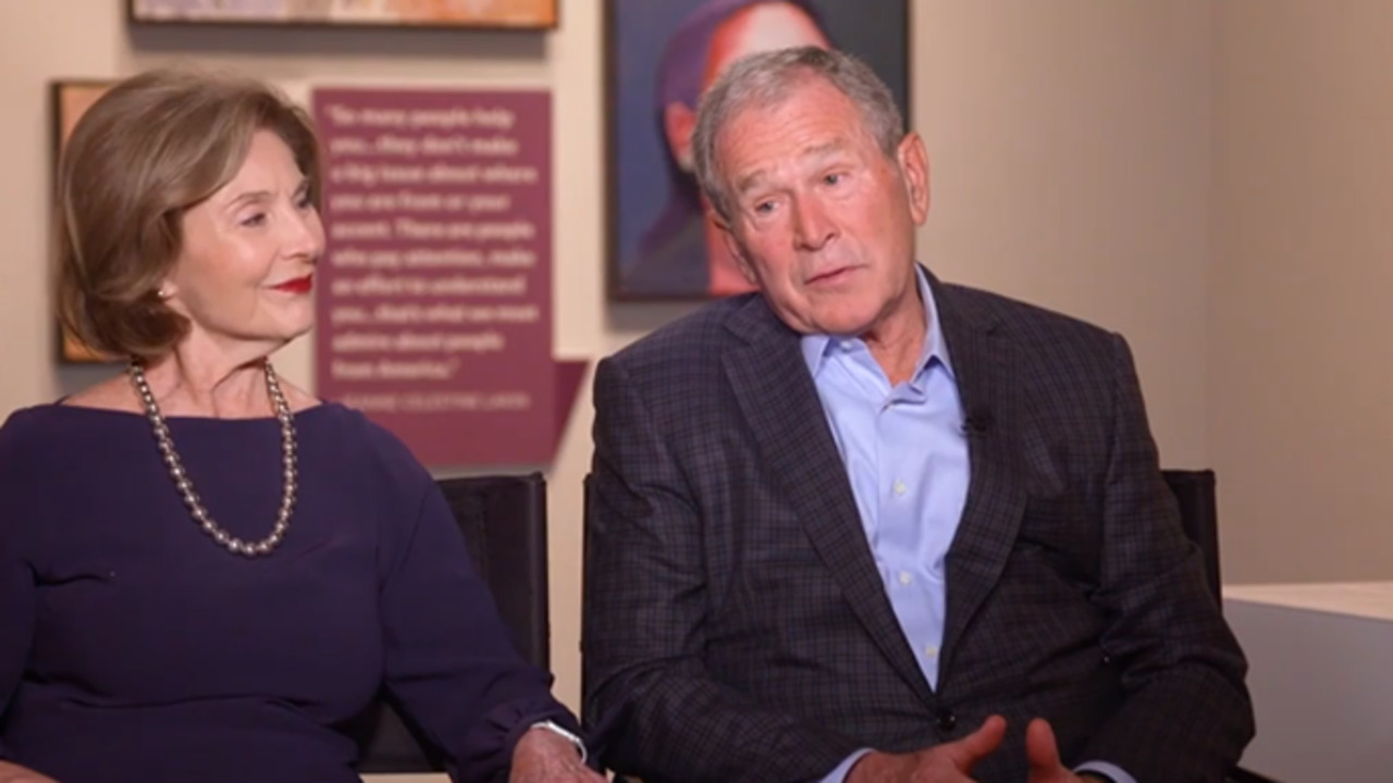 George W. Bush on why he started painting
