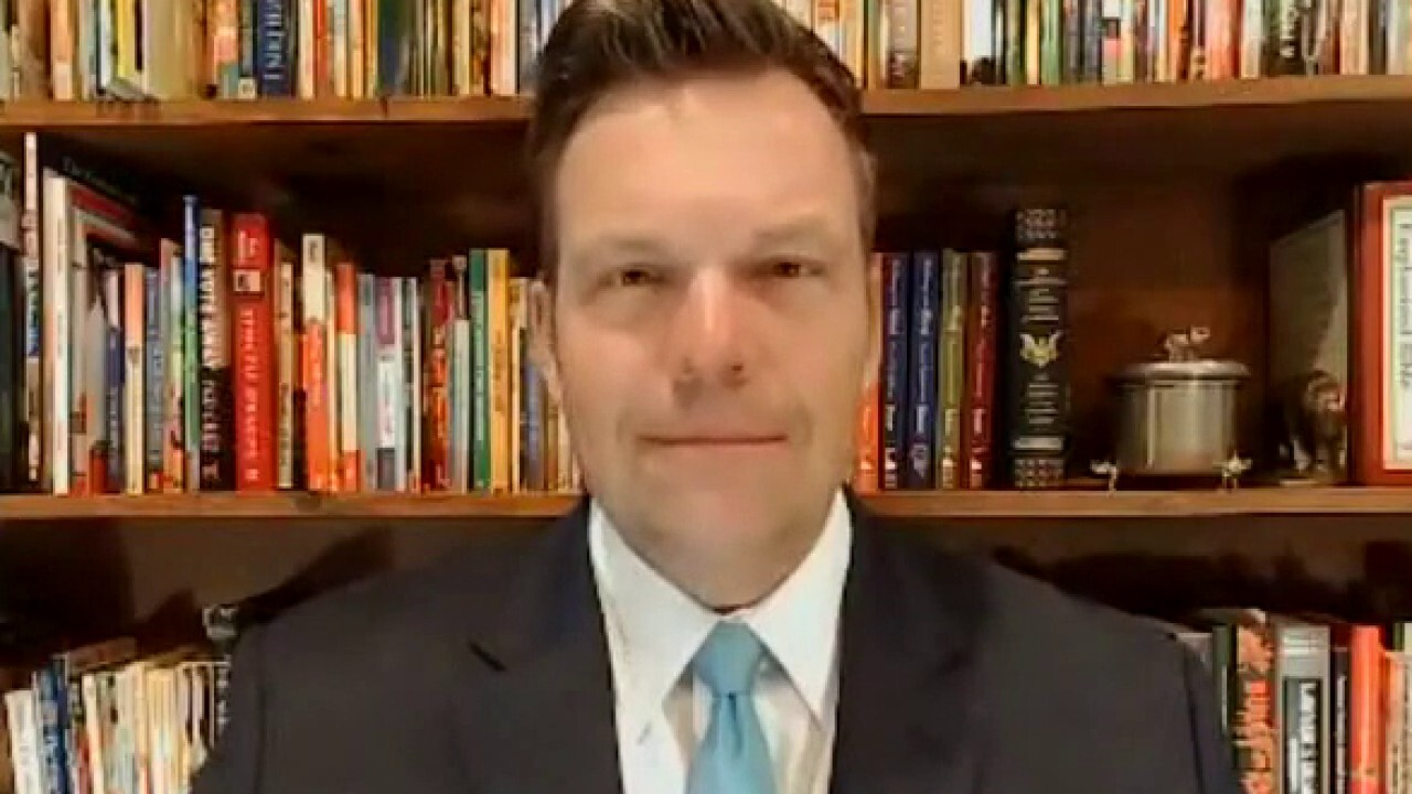 Kobach: For the People Act based on 'myth' voter ID laws target minorities