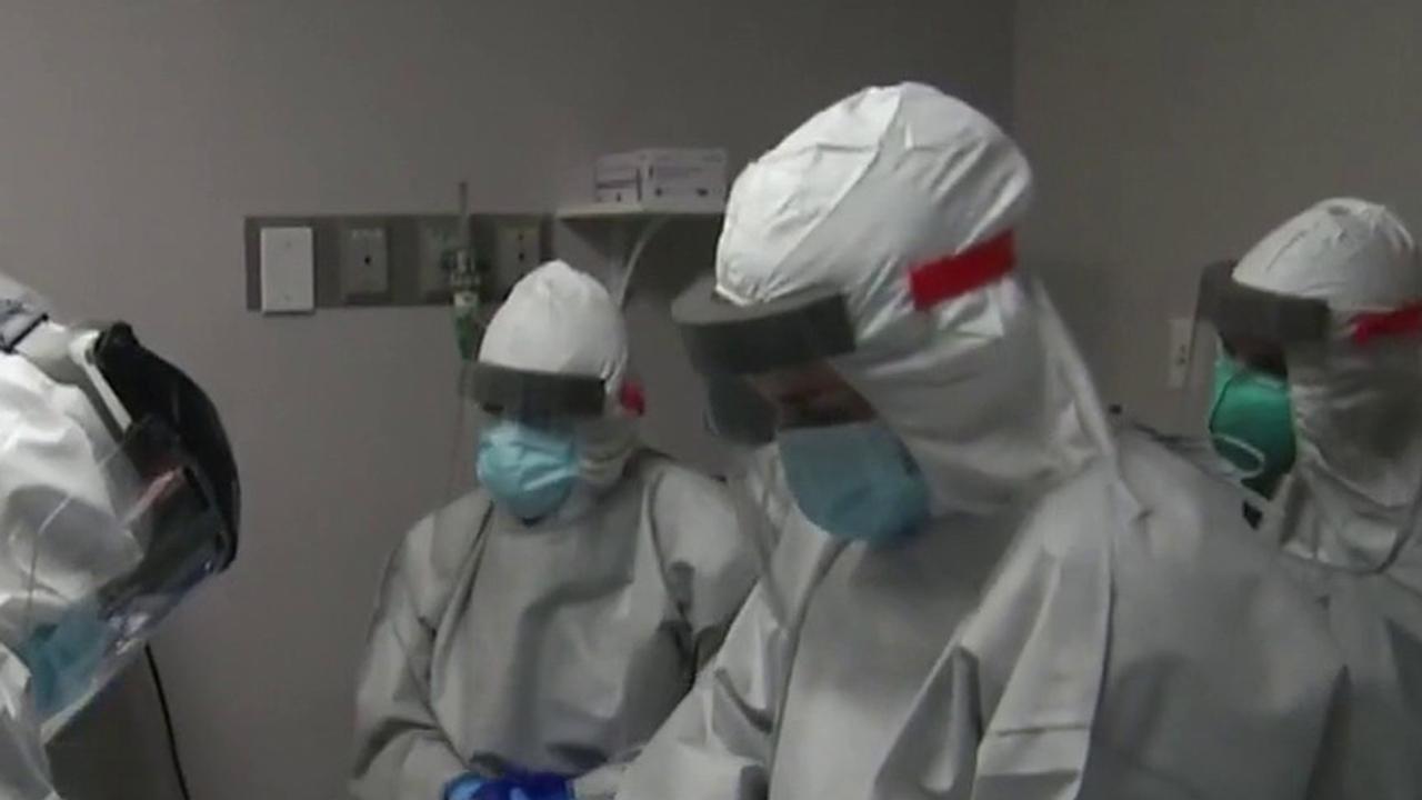 Texas Gov. Greg Abbott announces US Navy support for coronavirus hotspots