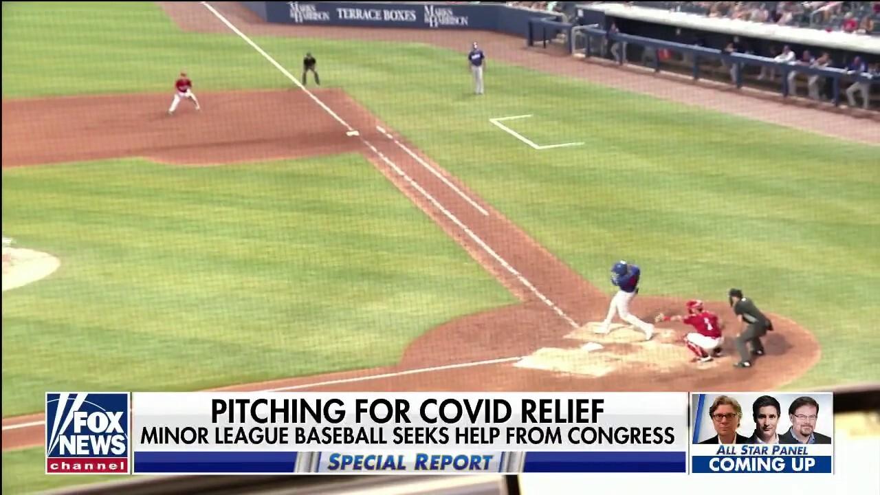 Minor league baseball asks Congress for COVID relief