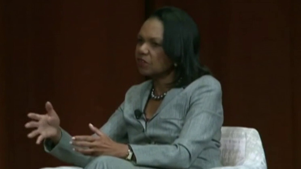 Condoleeza Rice takes jab at liberals for assuming the black vote