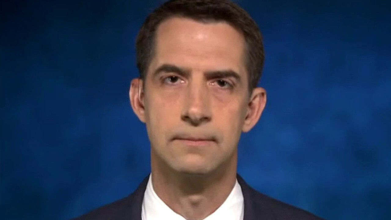 Sen. Cotton: Biden Afghanistan speech 'demonstrated a president who is dangerously disconnected from reality'