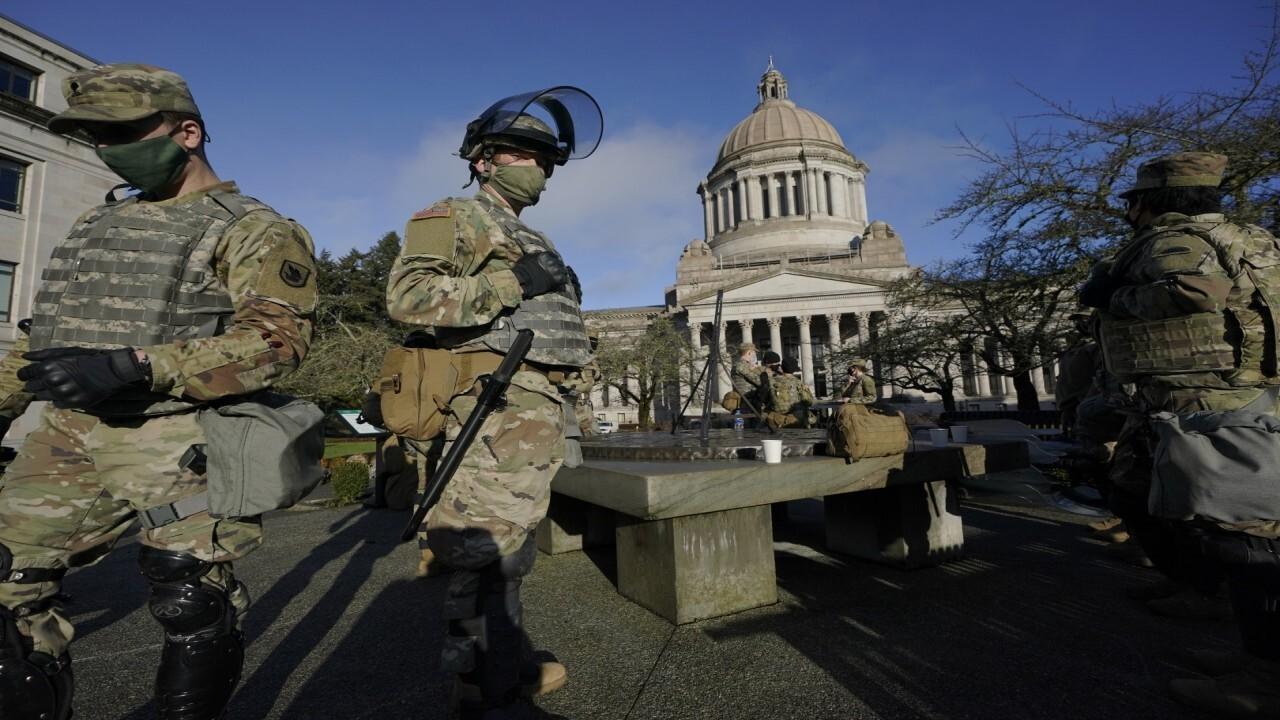 Dem congressman warns some National Guard pose Inauguration Day threat