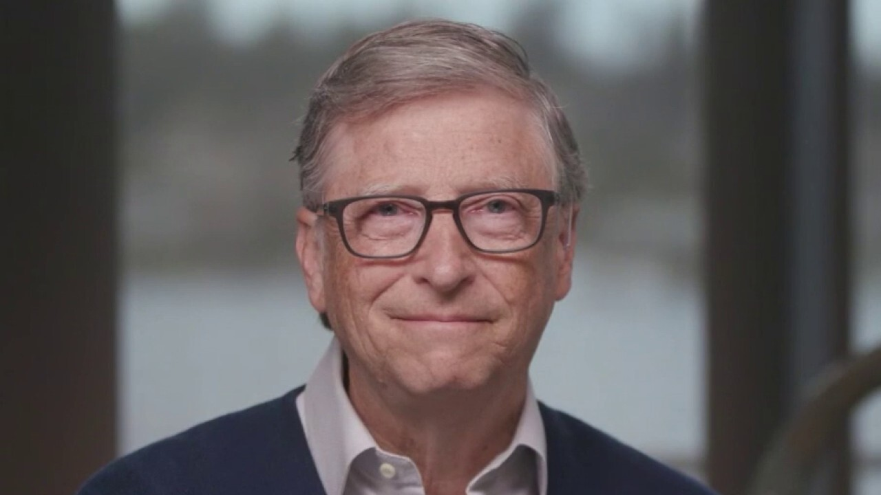 Microsoft co-founder Bill Gates, chair and the Bill & Melinda Gates Foundation, joins Chris Wallace on 'Fox News Sunday.'