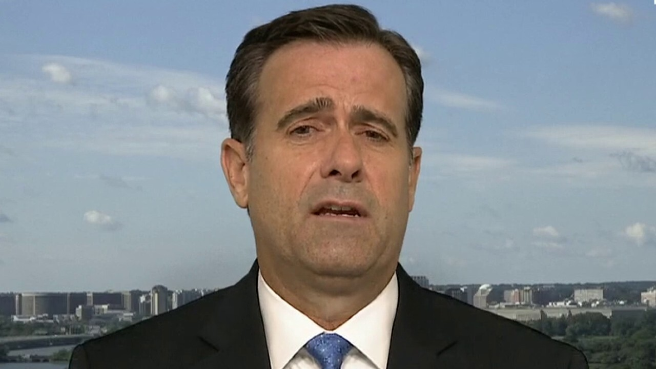 DNI John Ratcliffe on changes to congressional security briefings