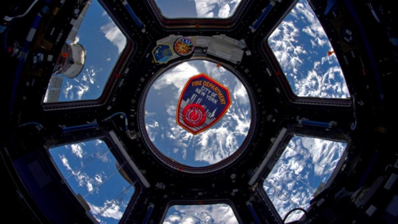 NASA astronaut honors coronavirus first responders from space