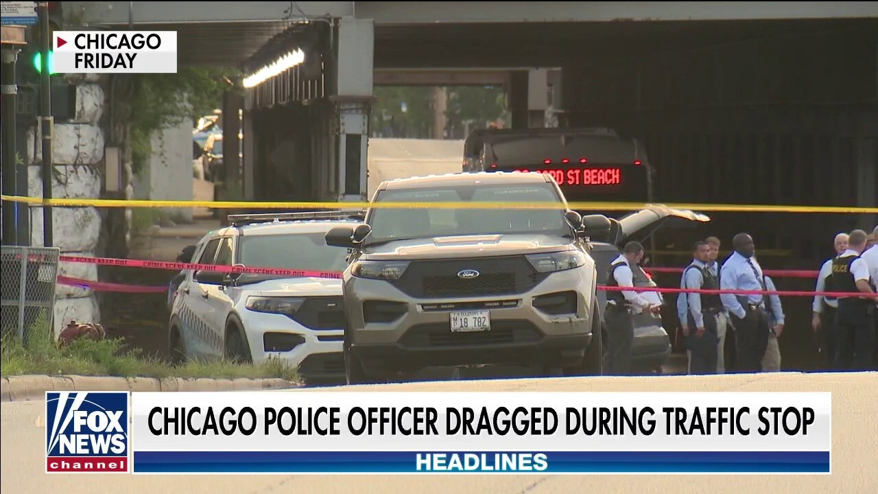 Chicago PD officer dragged in hit-and-run