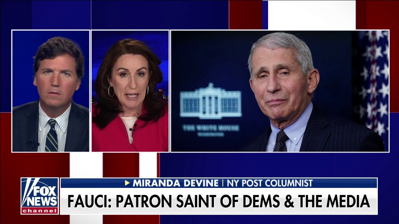 Tucker Carlson rips Anthony Fauci over recent interviews: 'Answer the freaking question'
