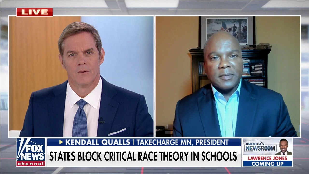 Kendall Qualls calls out Ill. professor lecturing children on their Whiteness