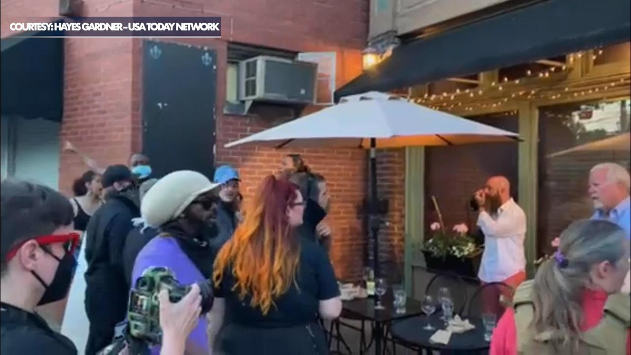 Diner in Louisville draws handgun as armed BLM protesters swarm restaurant